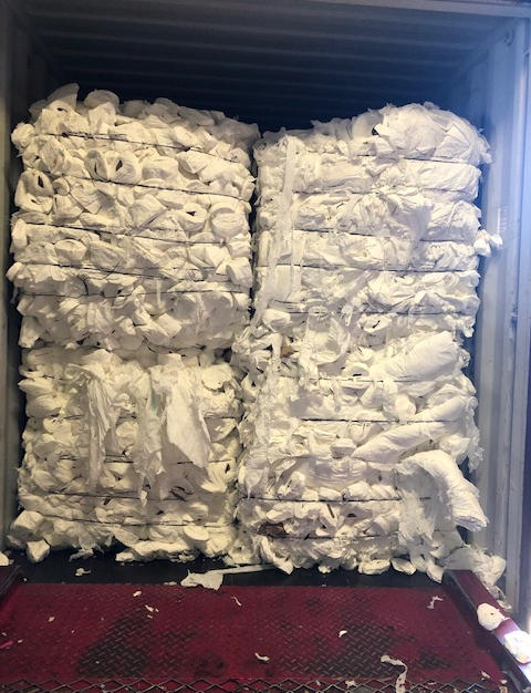 Virgin Tissue Towel w/ Cores