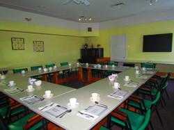 La salle de réception