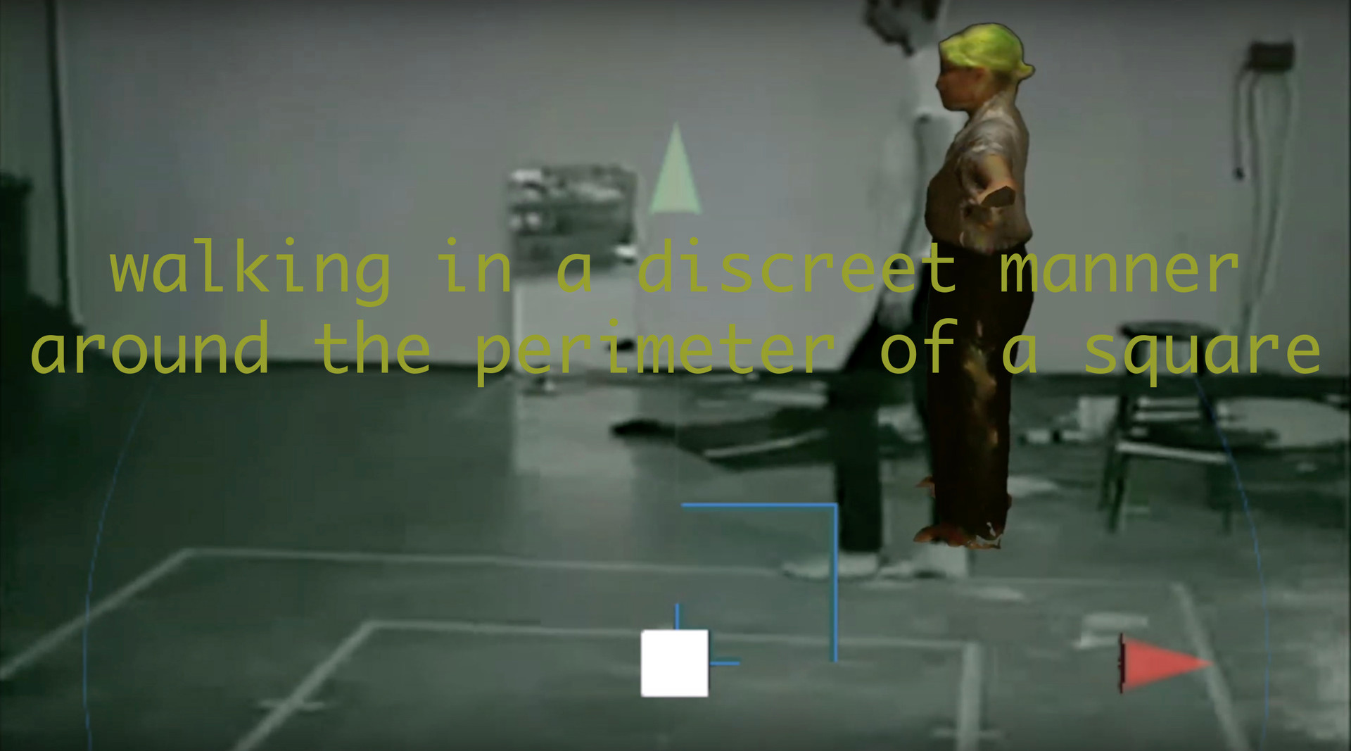walking in a discreet manner website gra