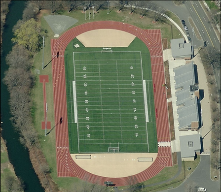 an image from aerial view of dillboy stadium