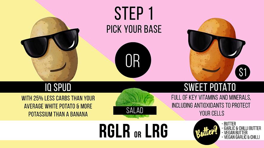 MR potato - pick your potato relaunch or