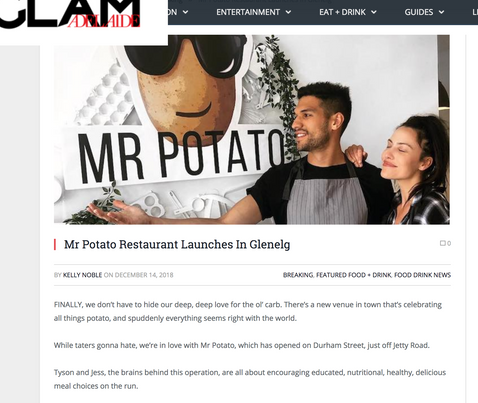 Mr Potato Glenelg