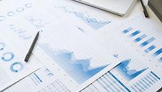 businessman working data document graph