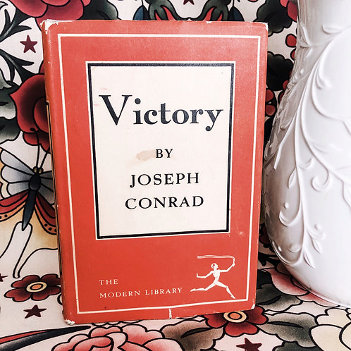 Victory by Joseph Conrad, The Modern Library #186 1921