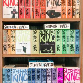 """Stephen King Hodder UK Paperbacks """"Kingbows"""""""
