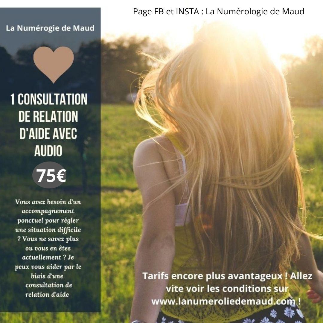 UNE CONSULTATION RELATION D'AIDE + AUDIO
