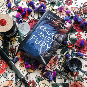 A Court of Mist and Fury by Sarah J. Mass