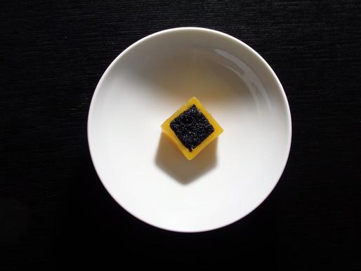 Curso Fermentados Online_Receta de Calabaza, caviar y miso de pimentón