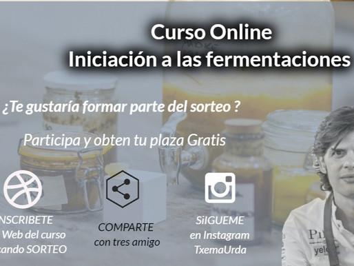 Curso Online Fermentados - Sorteo de una plaza