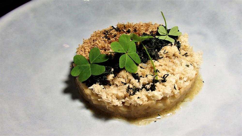 Curso Fermentados Online_Receta de Risotto de Celery, ostra y castañas fermentadas