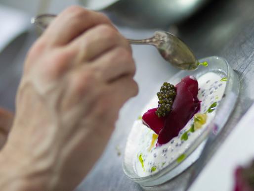 Curso Fermentados Online_Receta Remolacha, caviar y crema agría de Kéfir