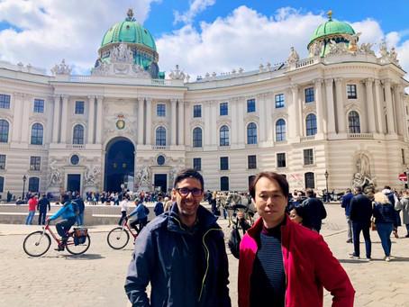 ウィーンにてハロルドと共に – STEINWAY in Austria –