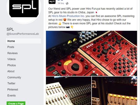SPL社のFacebookページに3日連続で特集記事