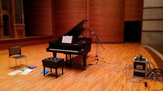 レコーディングスタインウェイピアノ