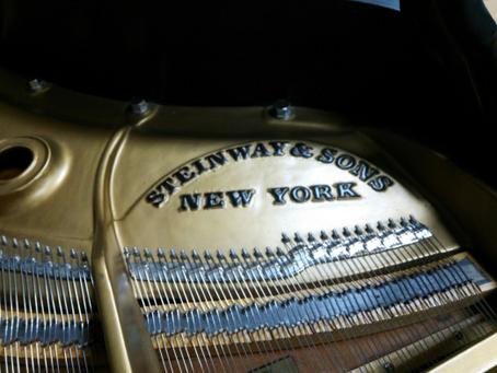 納品から2年スタインウェイ・グランドピアノM型 やはり、本国の音は本当に素晴らしい。