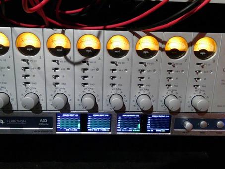 64chのレコーディング・ミキシングチェインの完成