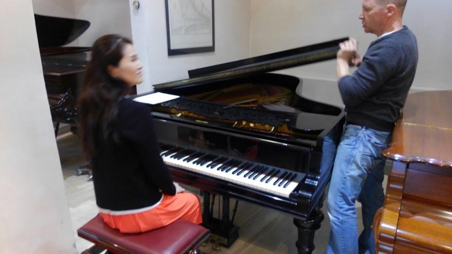 リヒャルト・シュトラウスが所有したスタインウェイピアノ