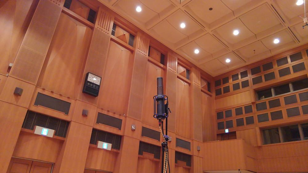 ホールレコーディングで、HUM Audioのリボンマイクを使用