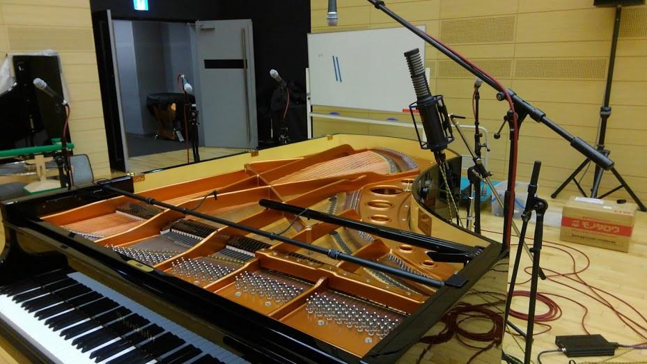 ピアノレコーディングにおけるマイク設定