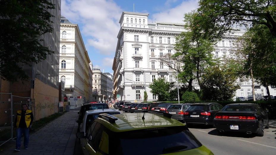 ウィーンの街通り