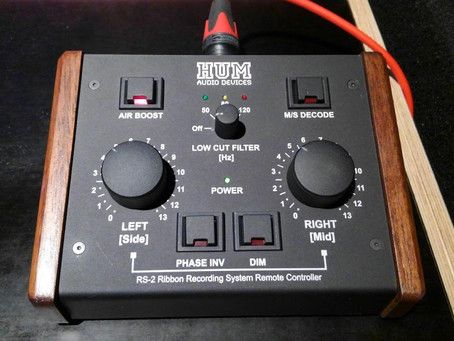 HUM AUDIO RS-2導入