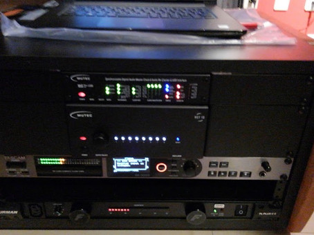MUTEC MC-3 USB+ with REF10 をライブレコーディングにも本格導入