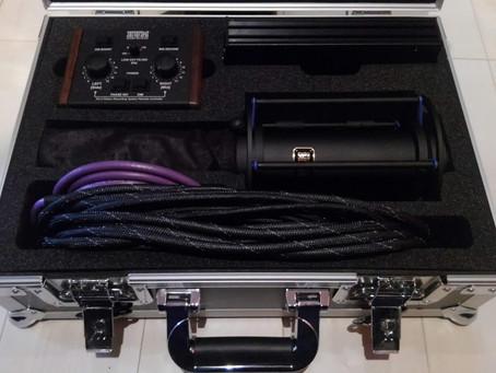 ステレオマイク Hum Audio RS-2が到着