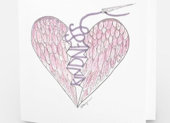 Pink Kindness Card