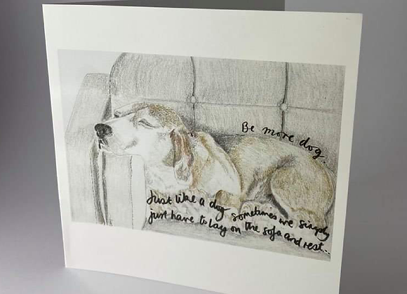 Get Well soon card for Dog Lovers