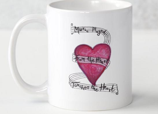 Music from the Heart Mug