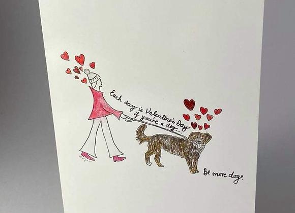 Dog Lovers Greeting Card (sm)