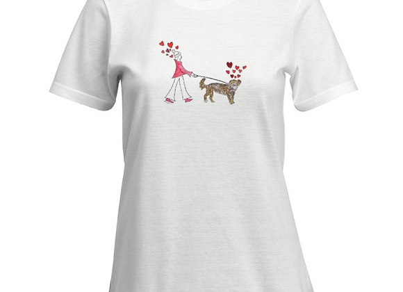 Phoebe Dog Walk T-shirt