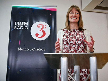 Daisy's busy stint with the bbc talking arts and health