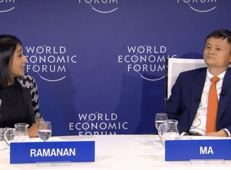 Abi Ramanan interviews Jack Ma at Davos 2018