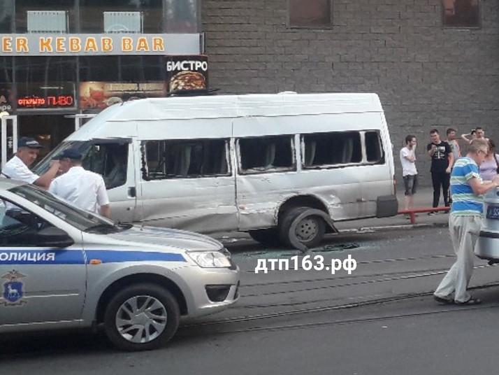 ДТП с общественным транспортом