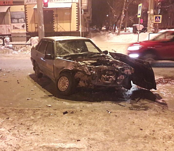 ДТП по ул. Победы (3 автомобиля)