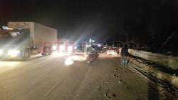 Крупное ДТП с участием нескольких машин произошло сегодня в Самаре на Ракитовском шоссе. (Не далеко