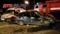Серьезное ДТП произошло сегодня, 11.11.17г. в Самаре, на пересечении ул. Авроры и Промышленности.