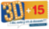 Logo de la promo 3D+15