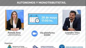 """CHARLA """"REPRO II Y ASISTENCIA A SECTORES AUTONOMOS Y MONOTRIBUTISTAS"""""""