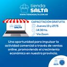 CAPACITACIONES MAYO 2021 DE COMERCIO ELECTRONICO JUNTO A TIENDA SALTA