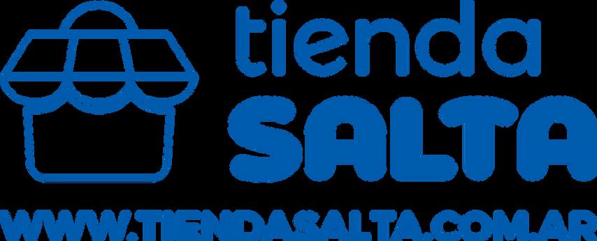 Tienda Salta logo nuevo horizontal azul.