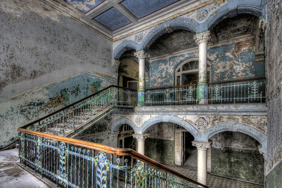 Abandoned German Military Hospital