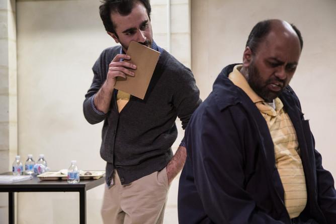 SALAR ARDEBILI and BILAL DARDAI in Language Rooms at Broken Nose Theatre