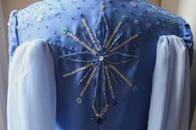 Character: Elsa Film: Frozen 2 (2019) Coat patterned, built and embellished by Annaliese Voci 2020