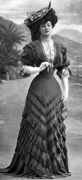 Mrs. Lovett Act 2 dress research