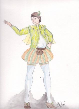Pantalone rendering