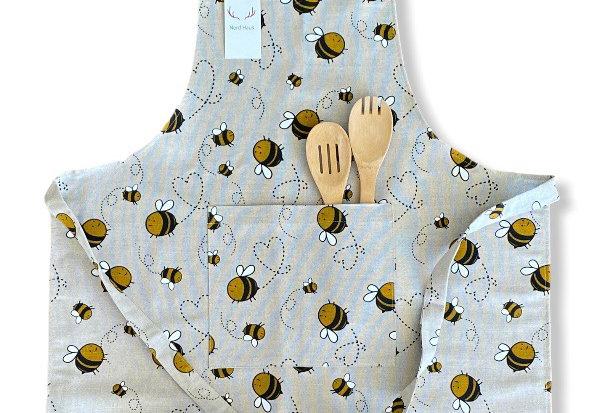Bee Linen Blend Apron