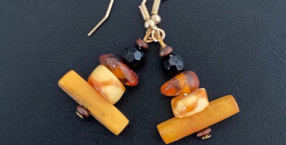 Amber Earrings -Style C