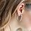 Thumbnail: SQUARE HOOP Earrings
